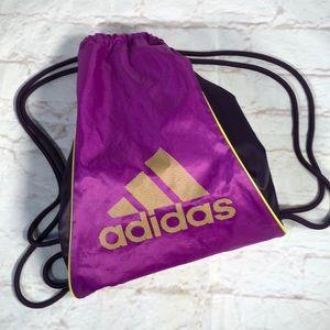 Adidas cinch backpack.